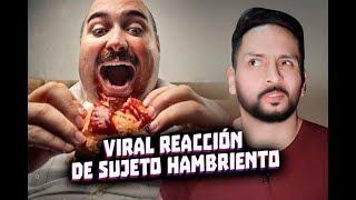 VIRAL REACCIÓN DE SUJETO HAMBRIENTO - MINI NOTICIERO 22-10-19