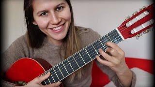 6. Gitar Dersi I Yeni Ritim D( re Majör ) Akoru I Saydım Parçası Nasıl Çalınır ?