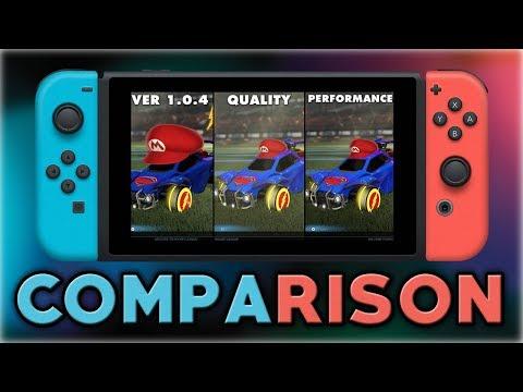Rocket League   Comparison   Quality VS Performance   Nintendo Switch