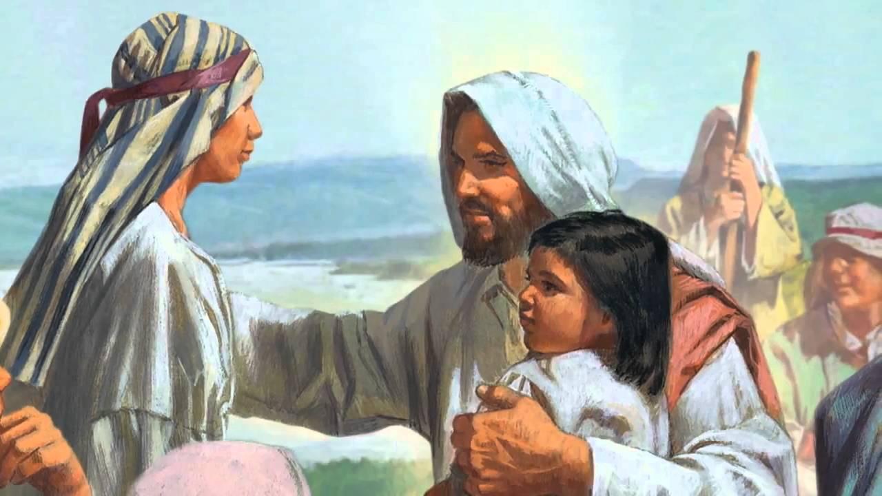 Jesus Christ Blesses the Children - YouTube