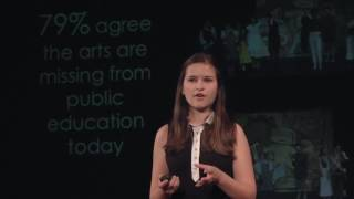 Seizing theatre education | Alexandra Dinu | TEDxPaloAltoHighSchool
