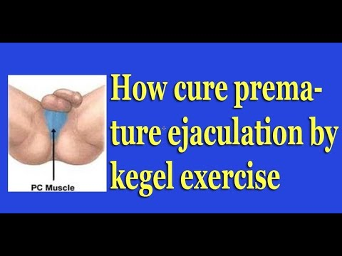 How to solve premature ejaculation exercises