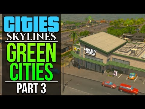 Cities: Skylines Green Cities | PART 3 | SELF SUFFICIENT HOUSING