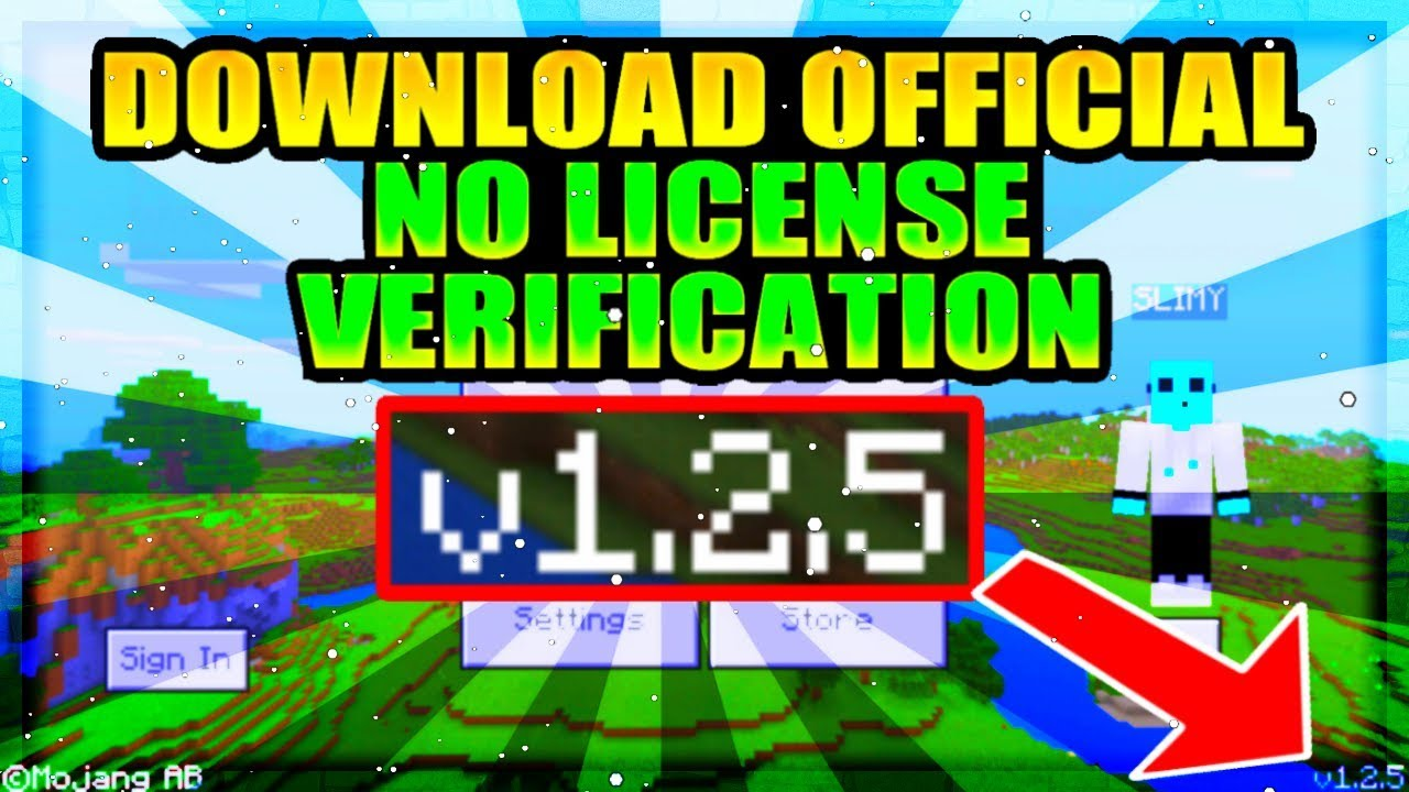 minecraft pe download no license