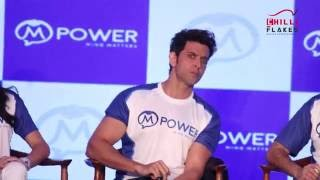 Hrithik Roshan Awkward Funny Moment On The Launch Of M Power