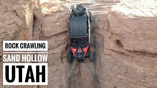 Rock Crawling at Sand Hollow in our Can-Am Maverick X3 Max XRS Turbo R