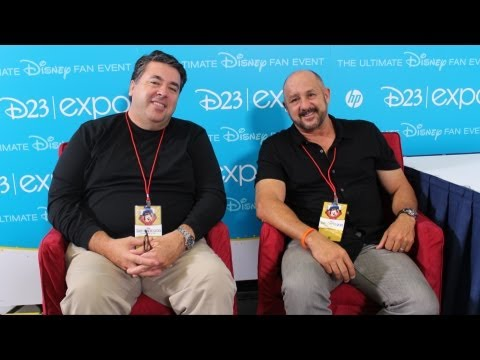 "Author David Bossert and Roy P. Disney Talk About ""Remembering Roy E. Disney"" - Interview D23 Expo"