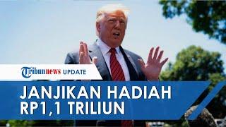 Isyaratkan Perang dengan Amerika, Iran Akan Beri Hadiah Rp1,1 Triliun untuk Kepala Donald Trump