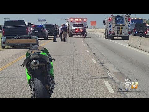 Driver Shoots, Kills Armed Motorcyclist Who Came Towards Him On I-35, Fort Worth Police Say