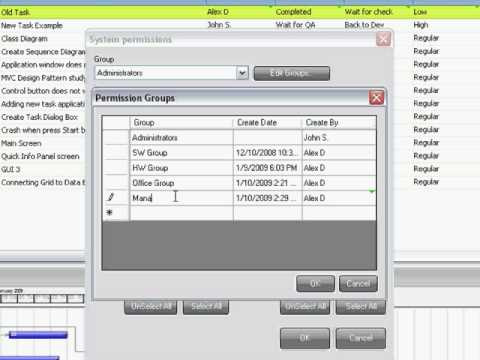 InTask Advance Permissions System Video