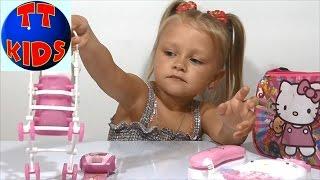 ✔ Хелло Китти Сумка Сюрприз игрушки распаковка Hello Kitty Surprise Bag unboxing toys Серия 1 ✔