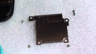 iphone 5c screw size and position for screen connector to the logic board