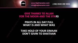 Give Thanks To Allah - Video Karaoke - Michael Jackson - by Baji karaoke
