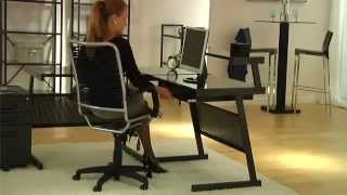 Bungie High Back Chair By Euro Style