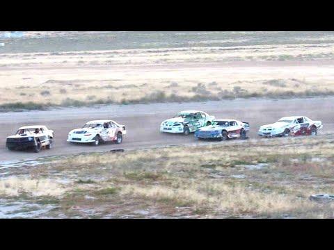 Wild Bill's Raceway IMCA Stock Car Heat Race 9/7/19