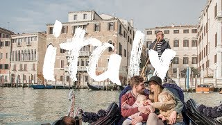 Adventures in Italy (family travel with kids) Video
