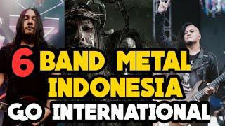 #Duniamusik86 BAND METAL INDONESIA YANG GO INTERNASIONAL 2019 VERSI DUNIA MUSIK 86