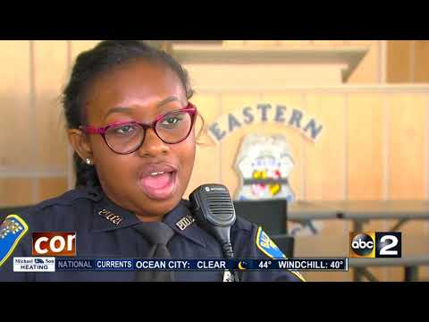 Inspired by the man who solved her father's murder, new officer wants to be the change for Baltimore