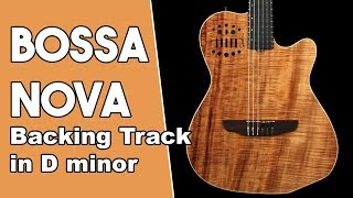 Bossa Nova Backing Track in Dm