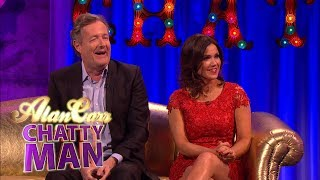 Piers Morgan & Susanna Reid - Full Interview on Alan Carr: Chatty Man
