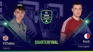 F2Tekkz vs Kurt - Quarterfinals - FIFA 19 Global Series Xbox Playoffs