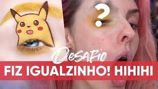 CAPTUREI UM PIKACHU COM O OLHO! - Karen Bachini