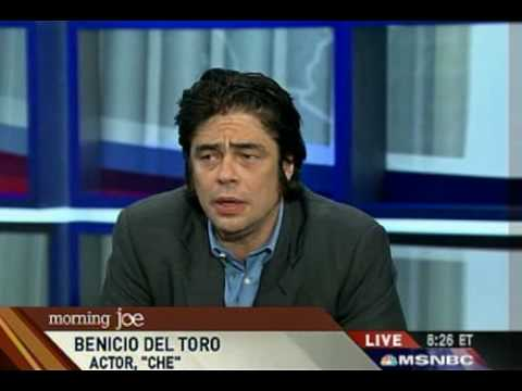 Benicio Del Toro Discusses