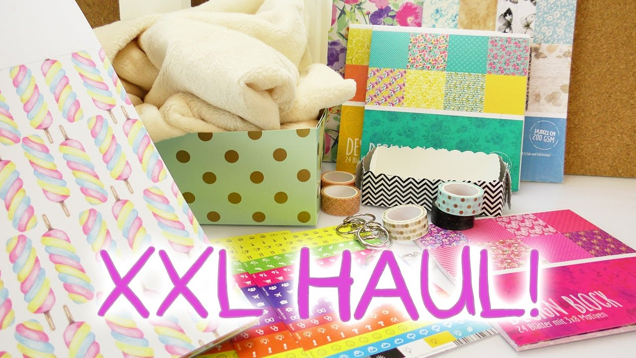 xxl haul f r 30 tedi amazon coole sachen pappen washi tape pl sch aufbewahrung sticker. Black Bedroom Furniture Sets. Home Design Ideas