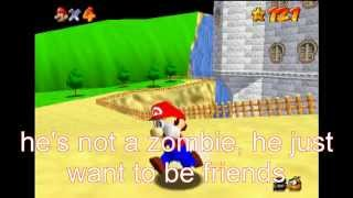 super mario 64 bloopers: castle jumping = time tavelling = zombies