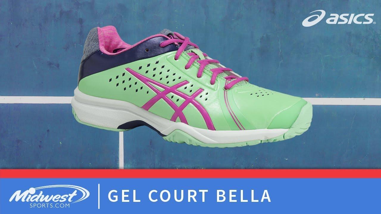 Asics Gel Court Bella Tennis Shoe - YouTube