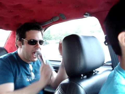 Tiagos Alves in Taxi karaoke, from Changwon to Busan in South Korea