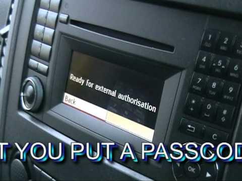 Merc Sprinter Bluetooth Radio