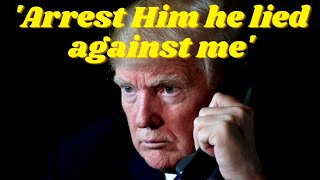 Donald Trump calls Allies demanding Mark Milley be arrested for lying against him