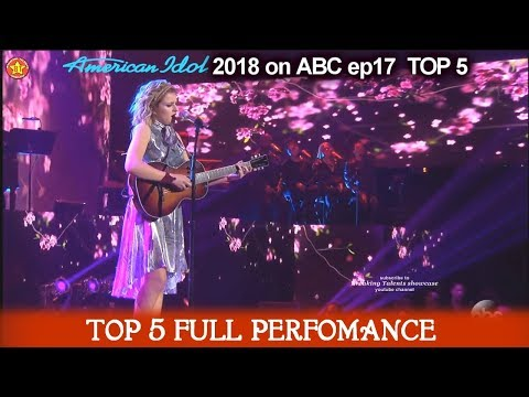 "Maddie Poppe sings ""I Told You So"" FULL SONG/PERFORMANCE Mother's Day  American Idol 2018 Top 5"