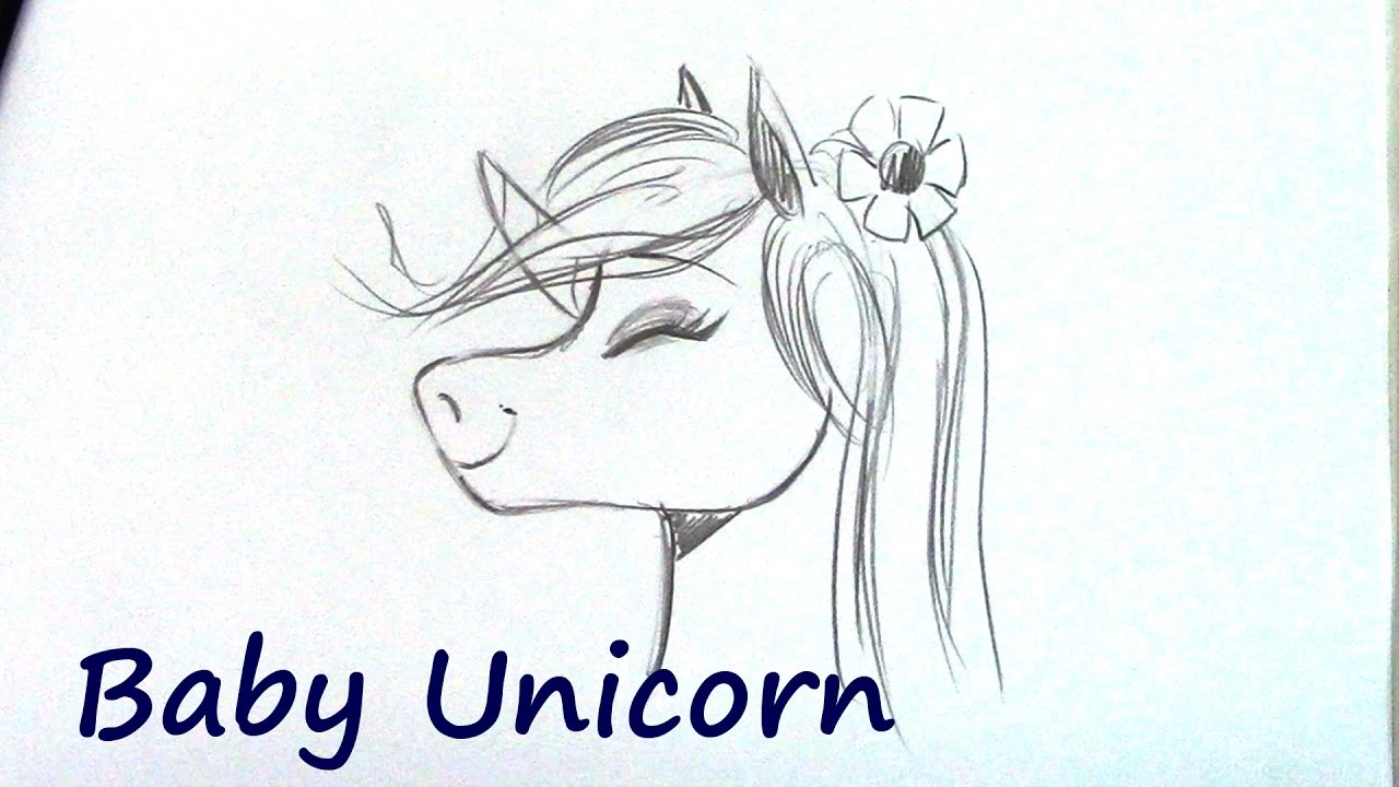 How To Draw A Unicorn   Step By Step For Beginners   YouTube