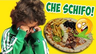 PIZZA CHALLENGE finita malissimo! L'ultimo ingrediente rovina tutto! *disgustosa!*