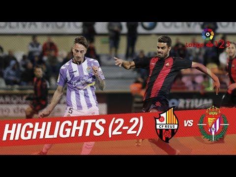 Resumen de CF Reus vs Real Valladolid (2-2)