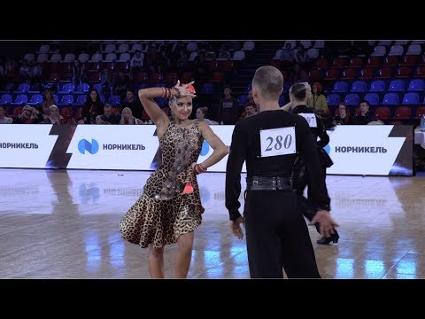 Egor Filev - Sofia Prudnikova RUS, Samba | ROC 2018 WDSF Open Youth Latin
