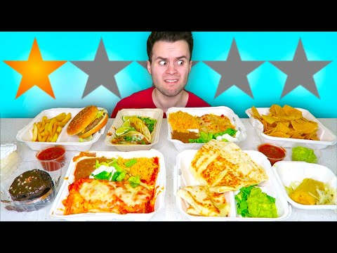 I Tried The WORST Reviewed MEXICAN Food In My Area! - RESTAURANT REVIEW!
