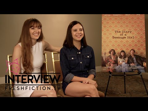 THE DIARY OF A TEENAGE GIRL   Bel Powley & Marielle Heller