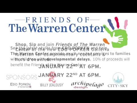 Friends of the Warren Center Friends & Fashion 2015 at Edo Popken