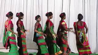 Inj lagid juri do timin saging re aaharghutu stage dance video 2018