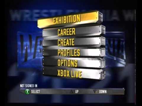 Wrestlemania 21 Xbox Menu Music