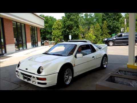 Ford RS200 Evolution Startup!
