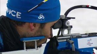 JO 2018 : Biathlon Individuel - Ces deux balles de trop pour Martin Fourcade !