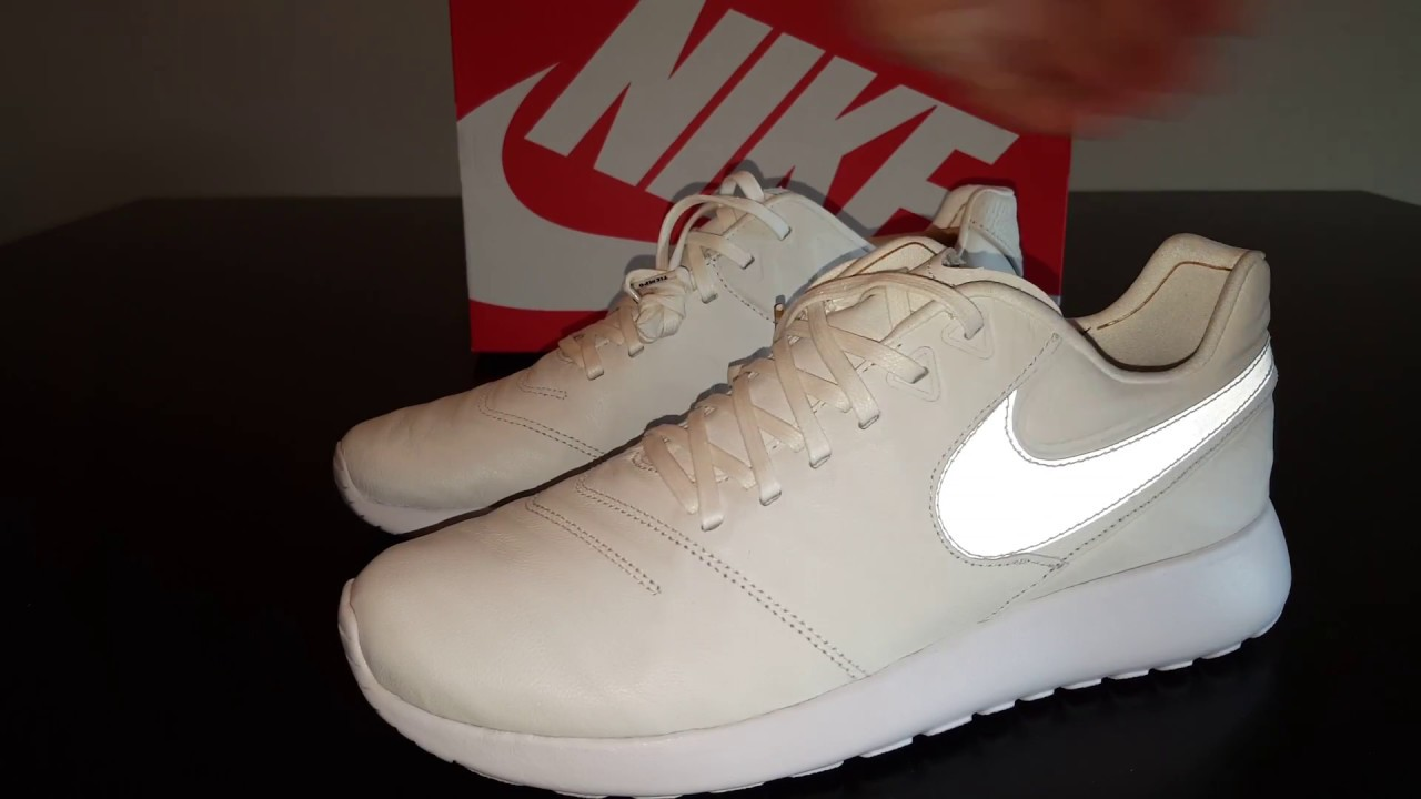 95cc7f9d2d0e Nike Roshe Tiempo VI ( 6 ) Leather - Unboxing + On Feet Review HD ...