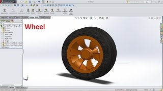 SolidWorks Tutorial Sketch Wheel