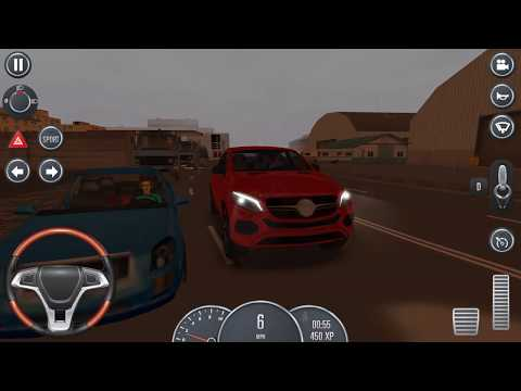 Mercedes Jeep Driving School 2016, Mercedes GLA Jeep with Steering Wheel, Car Driving Games
