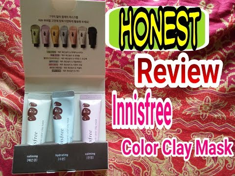 HONEST REVIEW INNISFREE COLOR CLAY MASK (DETAIL) FOR ALL SKIN TYPE || Bahasa Indonesia