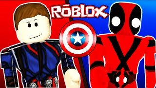 Roblox / Super Hero Tycoon / CAPTAIN AMERICA CIVIL WAR!